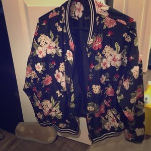 Jackets & Blazers - Light  Floral Jacket